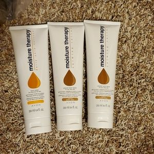 Lot of  3 Avon moisture therapy body wash